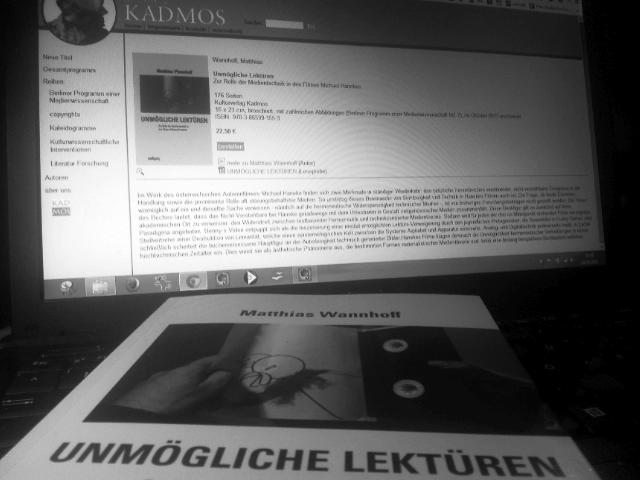 Matthias Wannhof - Unmögliche Lektüren