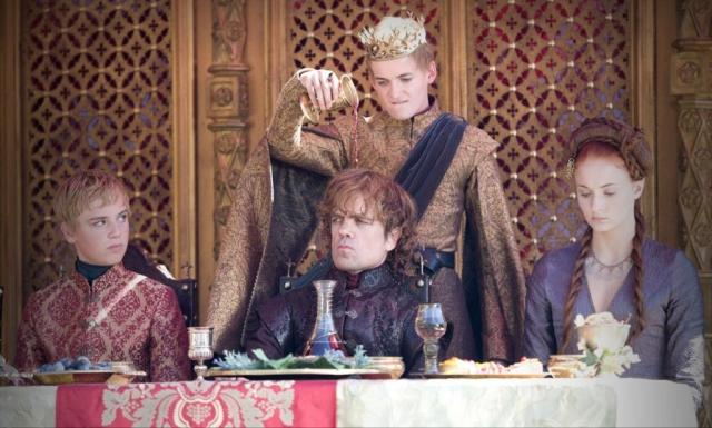 Ein letztes Mal darf sich Joffrey von seiner schlimmsten Seite zeigen, bevor er den Zuschauer mit seinem abrupten Ableben beglückt. © HBO
