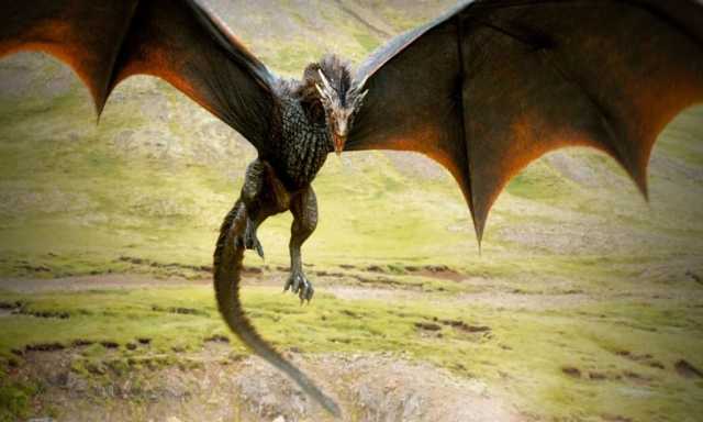 Dragons can't be tamed. Wie lange wird es dauern, bis der Hunger der Drachen nicht mehr nur mit Ziegen gestillt werden kann? © HBO