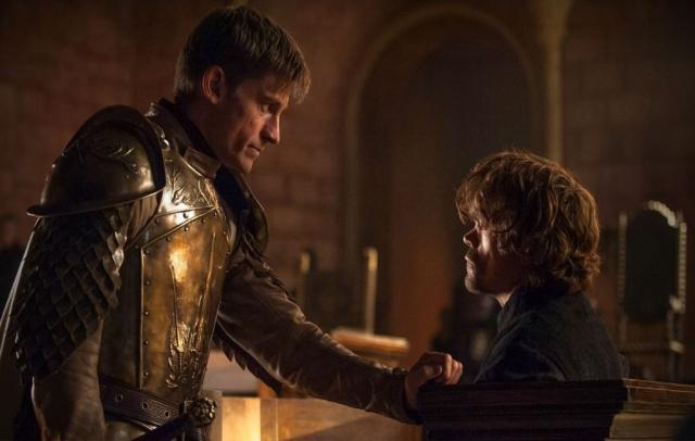 aime scheint in King's Landing Tyrions einzig verbleibender Freund zu sein – Für das Leben seines Bruders schlägt der Königsmörder seinem Vater Tywin einen Deal vor. © HBO