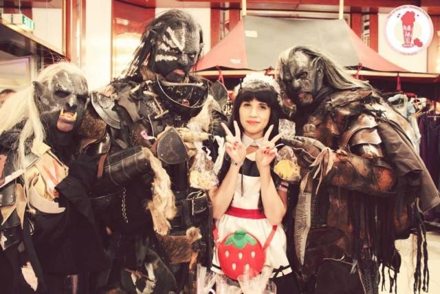 Egal ob Fantasy, Sci-Fi, Manga/Anime oder Videospiel – Auf der RingCon finden die unterschiedlichsten Fandoms zu einer großen Familie zusammen. © Maid & Host Café Strawberry Sundae