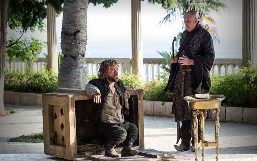 GAME OF THRONES_The Wars To Come_Tyrion Lannister, Varys