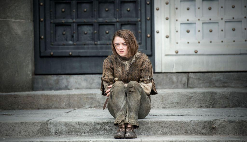 Draußen vor Tür: Bei ihrer Ankunft in Braavos wird Arya der Zugang zur Assassinen-Gesellschaft der Faceless Men zunächst verwehrt.